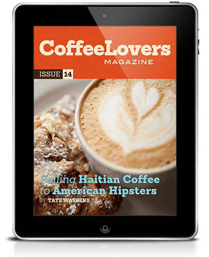 Coffee Magazine Issue 14 Cover