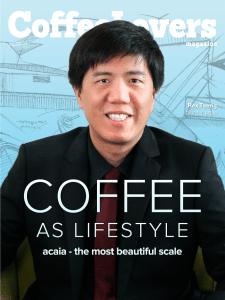 Coffee Magazine - acaia - Rex Tseng