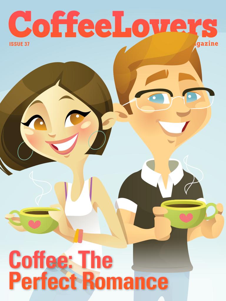 coffee magazine - valentine's - romance