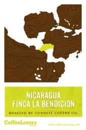 Coffee Lovers - Nicaragua Finca La Bendicion - Roasted Coffee