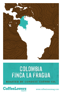 Coffee Lovers - Colombia Finca La Fragua - Roasted Coffee