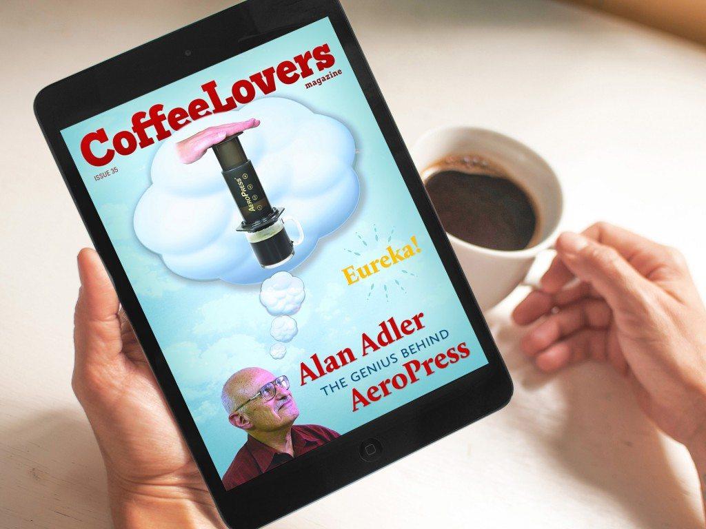 Coffee Magazine - Aeropress - Alan Adler - Issue 35