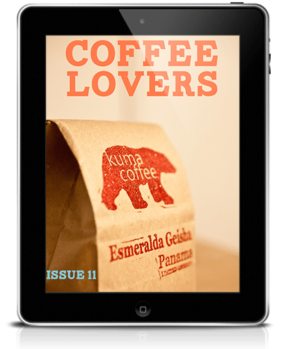 Coffee Lovers Magazine Issue 11 Cover