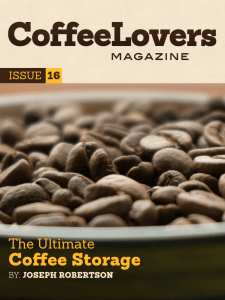 Coffee Magazine - Issue 16