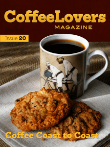 Coffee Lovers Magazine Issue 20 Cover