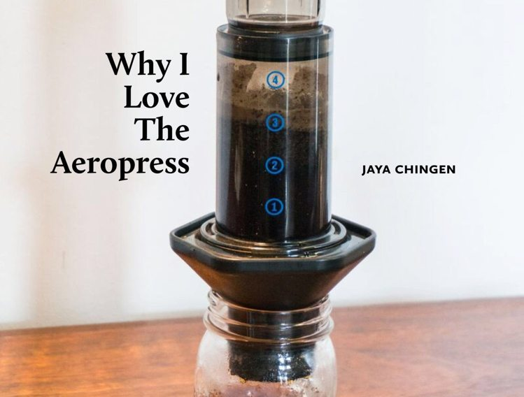 coffee magazine - aeropress