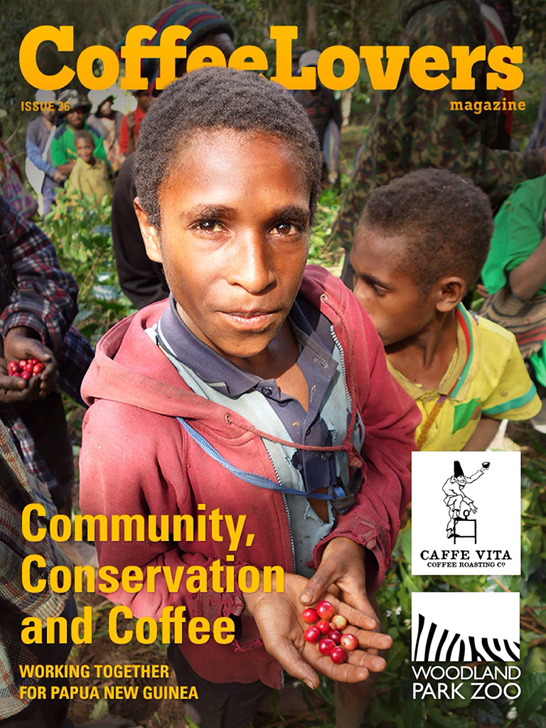 Issue 36 – Community, Conservation, and Coffee – With Caffe Vita, TKCP, and Woodland Park Zoo