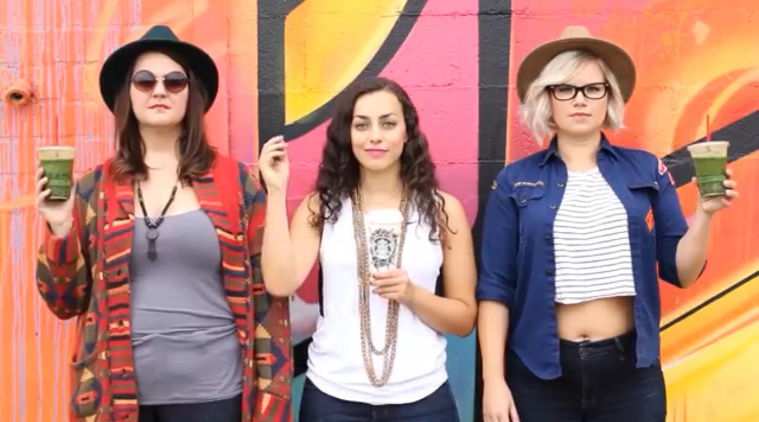 Damn Squad - Pumpkin Spice Latte Rap