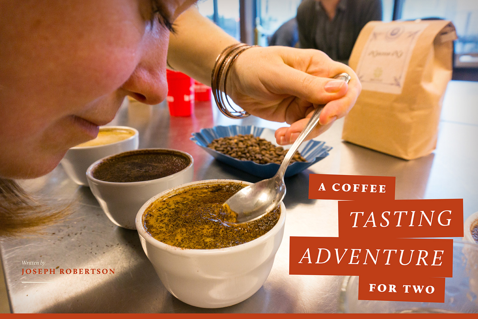 coffee tasting - coffee magazine - valentine's