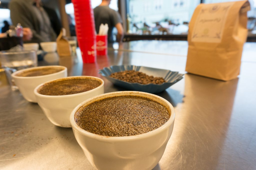 Cupping Coffee - Crust